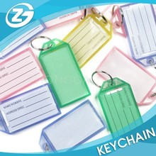 Colorful Key ID Label Tags Split Key Ring Keyring Keychain
