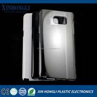 cell phone case hard shell protective case transparent material shell with drill for Samsung S5