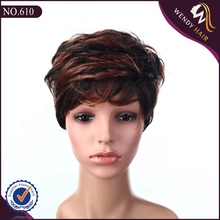 full lace wig with bangs for black women mesh wig cap