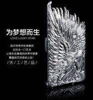 Angel Wing 3D cell phone mobile cover for iphone 6 plus, Hot selling for iphone6 case,for iphone 6 plus High-quality case