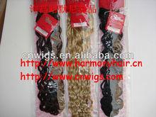 IDEAL human hair weaving /weft weave romance curl