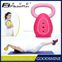 2015 New Fashion Home Exercise Equipment Eco Friendly Materials Fitness Kettlebell Weight Loss