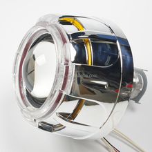 XGY NEW 2.5inch Double HID Bi-xenon Projector Lens Light Angel Eyes