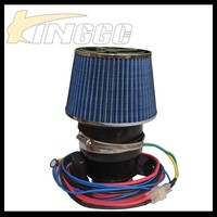 High Flow Universal Electric Air Intake Filter Electric Turbo charger