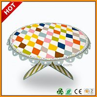 single paper cake platter ,party single tire coton cup cake stand ,clear single cardboard cupcake display stand