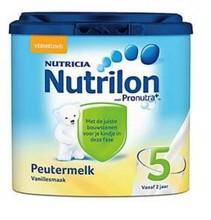 Preutermelk 5 Vanillesmaak leche infantil del bebé de escena Powder 5 ( 400 g ) 100% origen de países bajos ( holanda )
