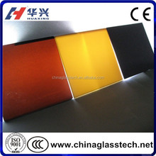 customized building grade high strength float or tempered tinted night in stained glass