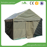 Fast delivery time and quality warranted large canvas tents