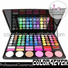 Professional 78 colors eyeshadow makeup+Face powder+Lip gloss+Blusher