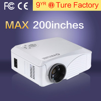 Portable Multimedia Video Player High Lumens & usb & hdmi Support 3d Movies & 1080p For Home Theatre Cheap Projector