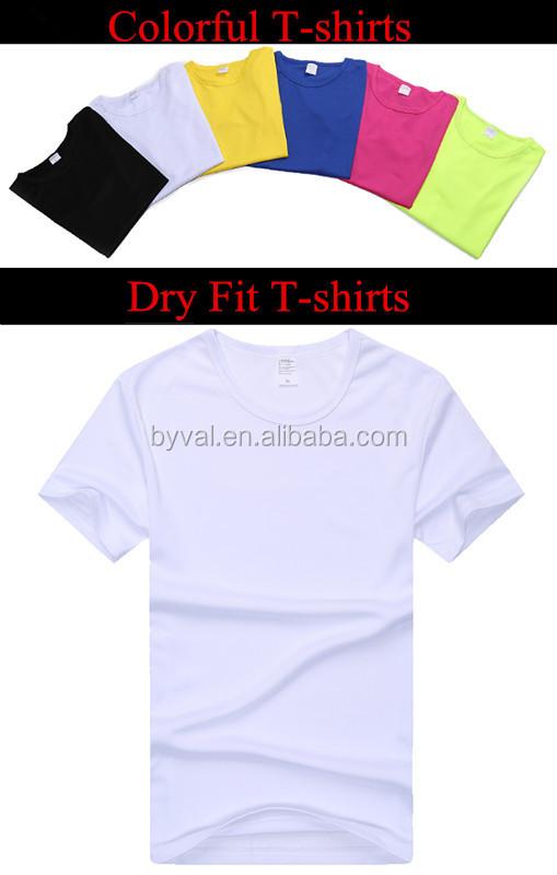 Wholesale Custom Blank T Shirts 100 Polyester Sports T
