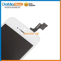 wholesale mobile phone accessory for iphone lcd for 5s touch screen