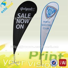 Fabric outdoor flag banner stand/outdoor flag/banner