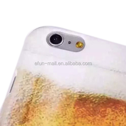 phone accessories beer pattern design back cover case for iPhone 6 plus,mobile covers for iPhone 6 plus