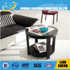 Office console table with 4 pillar legs , office side table
