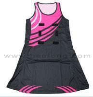 Healong Sport heat transfer imprinting 2014 Desgin Netball Uniforms unique