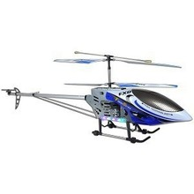 """49"""" FXD 3.5 Channel Gyroscope Metal Frame RC Helicopter with LED lights! (Blue)"""