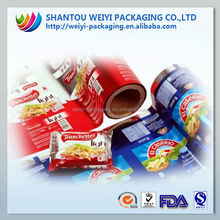 Wholesale plastic pillow bag chewing gum packaging