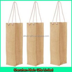 Jute Wine Bottle Bag,Wine Tote Bag Wholesale Jute Wine Bag