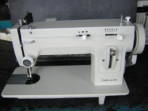 الذراع الطويلة المنزلية آلة خياطة متعرجة الصفحات الثقيلة حبل آلة