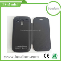 2500mah slim external rechargeable battery case for samsung s3 mini