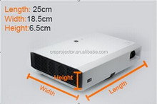New model fully functions dlp laser 1080p wireless 3D projector+Computer+TV