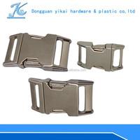 15mm/25mm zinc alloy metal buckle,side release backpack buckle hot selling