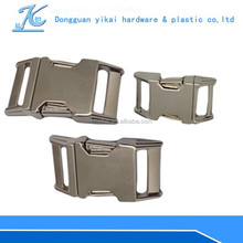 15mm/25mm zinc alloy metal buckle,side release backpack buckle hot selling