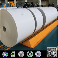 mixed pulp close to korea one side coated recycling paper waste