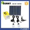 camping 10w solar wind turbine hybrid system