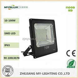 Epistar LED chips 85-265v structure led light Meanwell driver 70W LED Flood light