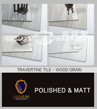 importer travertine wood grain ceramic tile in china factory, bathroom tile designs