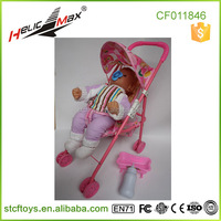 Chenghai Toy Stroller for Crying Silicone Baby Doll for Sale