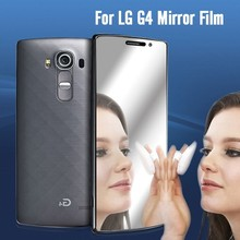 new pets products 2015 mirror screen protector for LG G4 screen protective film