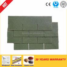 3-tab colourful asphalt shingle