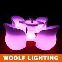led glowing coffee shop comfortable arm coffee chairs