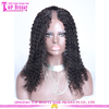 2015 hot selling 7a grade unprocessed afro kinky u part wig cap