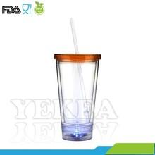 Hot selling in Halloween day! 450ML LED flashing mug, beer mug, BPA free