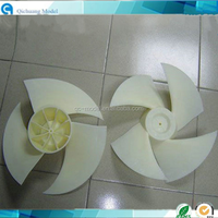 ABS material fan blade rapid prototype CNC processing