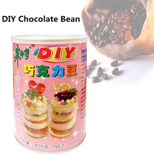 Hot Sale! DIY Chocolate Bean for bakery decoration with English Label 400g