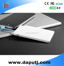 Best Choice!!!ultra-thin card mobile phone battery charger
