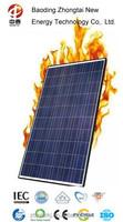 CE/IEC/TUV/UL Certificated polycrystalline 270W solar panel