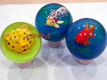 3D animal mini high rubber bouncing ball