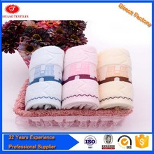 Professional fingertip towels for embroidery with high quality