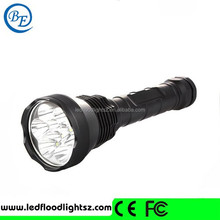 2015 Newest High Quality Rechargable XM-L 9*T6 LED Torch Tactical Flashlight