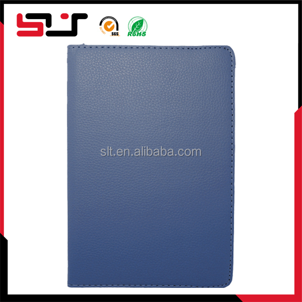 Book style wallet flip pu pouch shockproof protective leather cover case for ipad mini 2