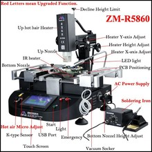Here is Original ZhuoMao Factory ! Cheap BGA Rework Station ZM-R5860 for ps4 console and laptop motherboard repair