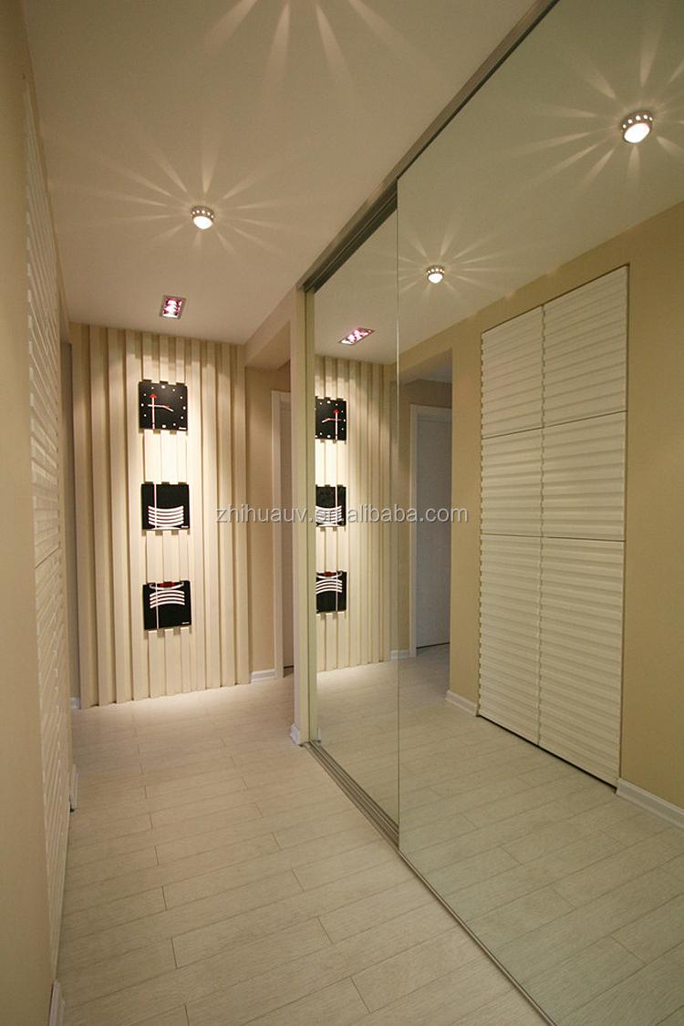 China fabriek directe verkoop slaapkamer kast ontwerp open hoek ...