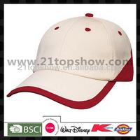 2014 promotional popular plain OEM hats caps