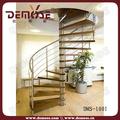 galvanizado de acero en espiral de la escalera